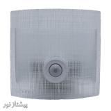 چراغ دیواری سنسوردار شیشه فلزی SC444 شیله