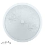 چراغ سقفی دو لامپ شیشه فلزی VS460 ویسنا