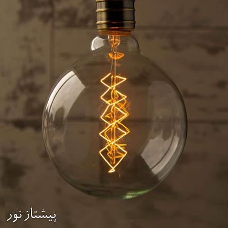 لامپ ادیسونی G125 تنگستن پیچی پیشتاز نور