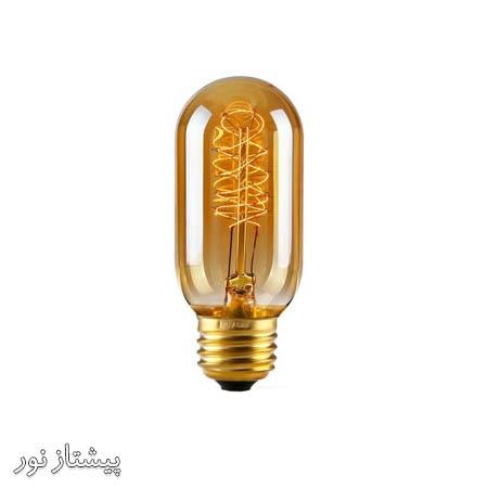 لامپ ادیسونی T45 کوکتلی تنگستن پیچی پیشتاز نور