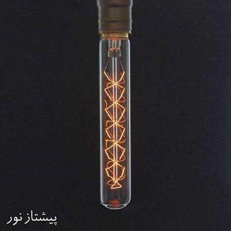 لامپ ادیسونی خیاری متوسط G185 تنگستن پیچی پیشتاز نور