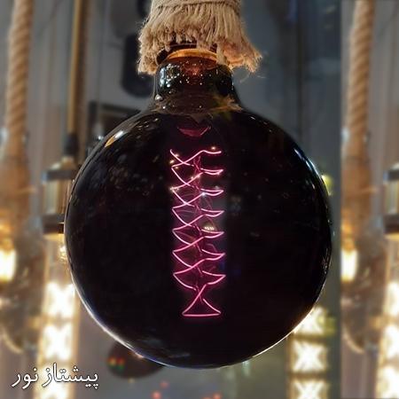 لامپ ادیسونی G125 تنگستن بلک پیشتاز نور